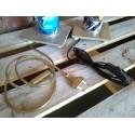 FILI LAMPADE.....puoi scegliere tra la colorazione nera o oro, completa di filo, pusante e presa.